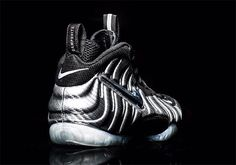 73882fd17c4c7 Nike Air Foamposite Pro Silver Surfer Release Date. The Silver Surfer Nike  Air Foamposite Pro features a Carbon Fiber Foamposite shell and shiny Nike  Swoosh