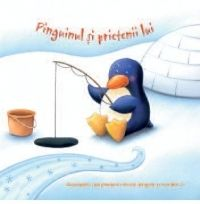 Pinguinul si prietenii lui - editura RAO; Varsta: 1+; Insoteste-i pe micul pinguin si pe prietenii lui în tinuturile înghetate! Citeste intrebarile simple de pe fiecare paginã, apoi descoperã animalele care apar dintre paginile cãrtii. De la un pinguin mic la zece balene uriase, toti s-au ascuns aici si asteaptã sã fie numãrati!
