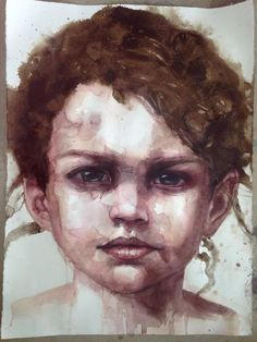 Cherry Hood, Australia b. 1950 Anonymous composite watercolour portraits, teaches in Southern Tablelands