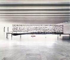 Interior. Palacio Itamaraty, Brasil Arquitecto: Oscar Niemeyer