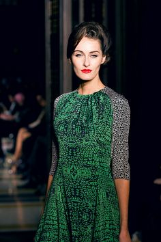 Ong Oaj Pairam AW14 trends London Fashion Week Autumn Winter Style