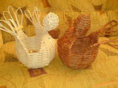 Postup na pletenou misku ve tvaru slepičky
