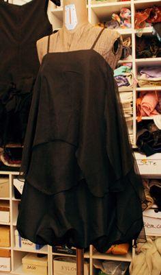Vestito nero - Black dress #fashion #ceremony #handmade