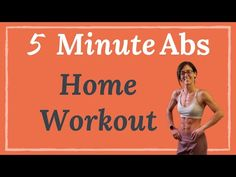 Quick and Effective at home Abs workout. No equipment needed, this flat stomach ab home workout will strengthen your core and tone your 6 pack abs. This 5 mi. Flat Abs Workout, Six Pack Abs Workout, Ab Workout Men, Best Ab Workout, Abs Workout Routines, Gym Routine, Dumbbell Workout, Beginner Workout At Home, Ab Workout At Home