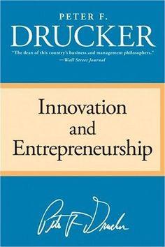Innovation and Entrepreneurship #books