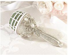 Lillian Rose Regal Elegance Jeweled Bouquet Holder, 7.5-Inch