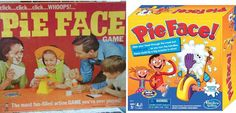 Hasbro to Bring the Hilarious and Nail-Biting Pie Face Game to Families around the Globe