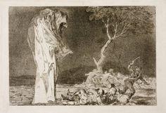 """Goya en El Prado: """"Disparate de miedo"""", Goya, 1815-1819"""