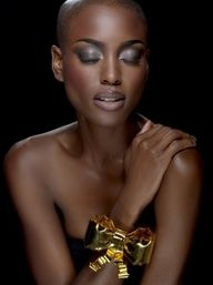 Nnenna Agba. Beauty, makeup, everything just right!