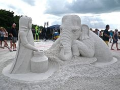 Mind-Blowing Sand Sculptures