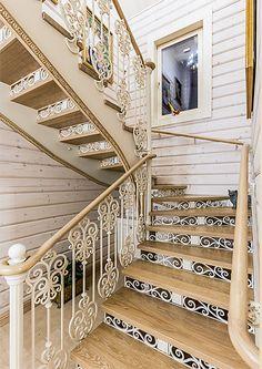 Интерьер дома из клееного профилированного бруса | Дома из клееного бруса | Журнал «Деревянные дома»
