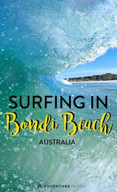 Surfing Australia | Ever wanted to try your luck in surfing in the famous Bondi Beach in Australia? Here's our experience with Let's Go Surfing, one of the leading surf schools in Australia.