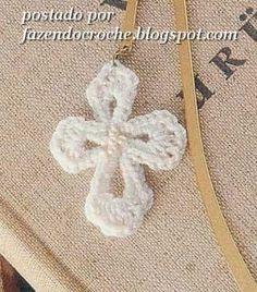 ...Fazendo Crochê...: Crucifixo