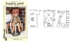cute rag doll pattern /\
