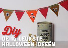DIY - De 10 leukste Halloween Ideeën