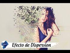Efecto de dispersion en photoshop - Videotutorial Photoshop - YouTube