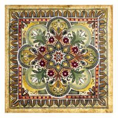 Italian Tile III Giclee Print by Ruth Franks at Art.com