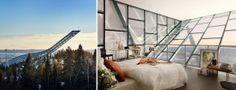 Stay on Top of the Holmenkollen Ski Jump in Norway