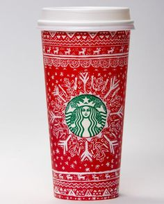 Learn about 13 designs, submitted by customers in six countries, chosen to be featured on Starbucks 2016 red cups.