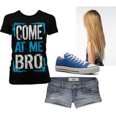 Come At Me!, created by alyssakrause on Polyvore