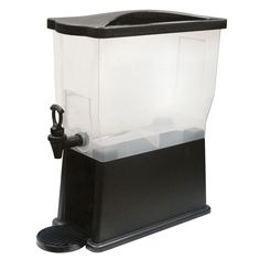 Make your favorite party drinks with this Winco plastic slim beverage dispenser. This beverage dispenser features a detachable drip tray that prevents spills and messes on your countertops whenever yo Kitchen Items, Kitchen Utensils, 3 Gallon Beverage Dispenser, Restaurant Equipment, Professional Kitchen, Restaurant Kitchen, Drip Tray, Home Chef, Best Beer