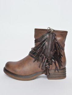Jainey ankelstøvle brun - SKO