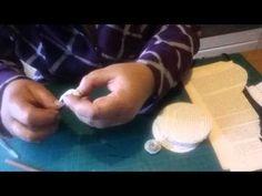 Rosen aus Buchseiten drehen - YouTube