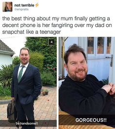When these parents' love shone through on Snapchat. | 24 Times Parents Were A Goddamn Gift To The Internet