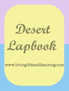Desert Lapbook