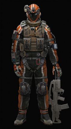 space combat suit, JinCheol Jung on ArtStation at…