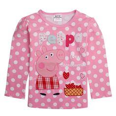 Polera Rosada manga larga Peppa Pig, Tallas 18 meses a 6 años, Valor 8.990.- Peppa Pig, Graphic Sweatshirt, T Shirt, Long Sleeve Tops, Baby Kids, Sweatshirts, Sweaters, Cotton, Oem