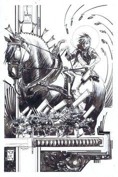 Joe the Barbarian 7 Cover by Sean Gordon Murphy
