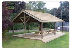 Shamwari Lodge including decking x – Fawns Playground Equipment – Natural Playground İdeas Deck With Pergola, Gazebo, Cool Sheds, Reading Garden, Outdoor Playground, Playground Ideas, Playground Equipment For Schools, Outdoor Shelters, Enclosed Patio