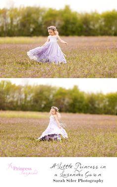 Lavender Gown Princess - A Princess Inspired Blog | Sarah Siler Photography