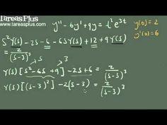 Solución de una ecuación diferencial usando la transformada de laplace parte 2