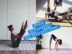 Body Sculpting Pilates Routine - Lottie Murphy