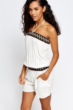 b541a76eb63 Bandeau Tapered Jumpsuit - 3 Colours - Just £5
