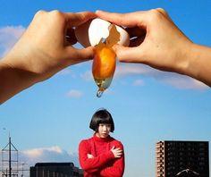 기발한 사진으로 <타임지:TIME>에 소개된 여학생 - 디아티스트