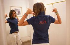 Popped Collar, Polo Shirt Women, Denim Shorts, Polo Ralph Lauren, How To Wear, Shirts, Women's Fashion, Collection, Clothing