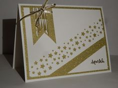Confetti Punch by Stampin up with the Winter Wonderland dsp. Enjoy and visit me at http://thescrappingqueen.blogspot.com/2015/11/sparkle-all-way.html
