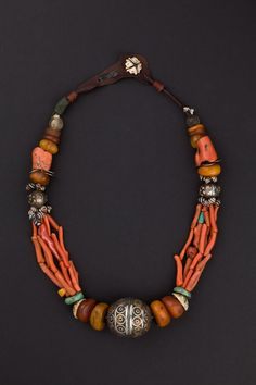 Collana Anti Atlante occidentale, Marocco Prima metà 1900 - Stunning antique piece.