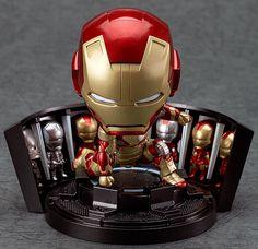 Nendoroid Iron Man Mark 42: Hero's Edition + Hall of Armor Set