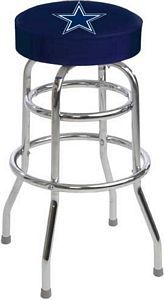 The Dallas Cowboys Bar Stool is made in the USA and sells for only $125.00 with free shipping.