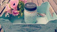 Vamos a reciclar una caja de frutas y un tarro de cristal, los decoraremos con gesso y chalk paint Suscríbete: https://goo.gl/0mb83x