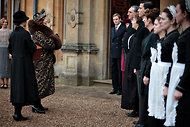 Shirley MacLaine's grand appearance on Downton Abbey.  nytimes.com