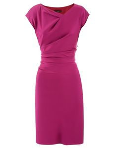 Fuchsia Cotton Dress   www.veryeickhoff.com