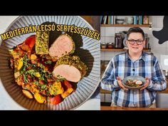 (6) Mediterrán LECSÓ zöldfűszerkérges sertésszűzzel 🤩 - YouTube Paella, Ethnic Recipes, Food, Street, Kitchen, Youtube, Cooking, Essen, Kitchens