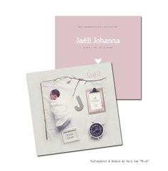 """Geboortekaartje, collage, newborn, birthannoucement, phottography & design by Huis van """"Mijn"""""""