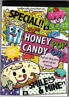 Crux ~ Honey Candy memo pad