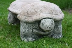 Turtle Bench. I would love this out front!